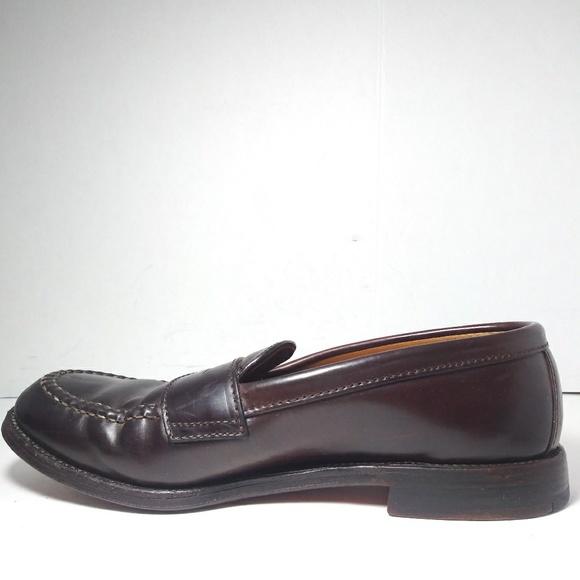 99230e83f15 Neiman Marcus Alden986 Men Brown Dress Shoes S8.5